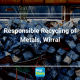 blocks of recyled and disposed metals for reuse
