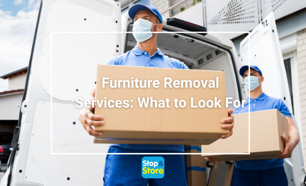 Furniture Removal Services – What to Look For - Wirral