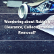 Wondering about Rubbish Clearance Collection and Removal